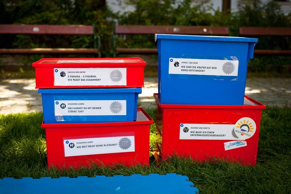 einige Experimentboxen