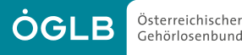 Logo: Österreichischer Gehörlosenbund